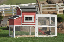 Summerhawk Ranch 33554 Vintage Red Barn Chicken Coop