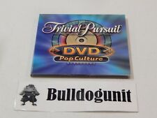 2003 Trivial Pursuit DVD Pop Culture Board Game DVD in Case Only
