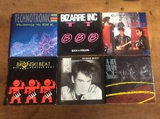 Collection 6 Vinyl 45 Singles 1980s Nik Kershaw A-Ha Bronski Beat Picture Covers