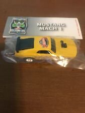 Hot Wheels mustang mach 1 10th annual Collectors Nationals Mf Green