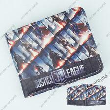 Superhero Justice League Wallet DC Comics Short Bifold Card Holder Purse Gift B