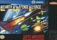 Earth Defense Force - Nintendo SNES Game Authentic
