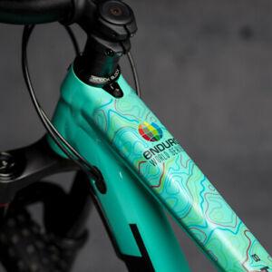 DYEDBRO - Enduro World Series - Bike Frame Protector Cover Wrap