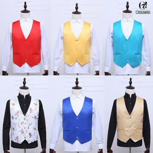 Medieval Mens Dress Vest Waistcoat Men Casual Vest Vintage Party Cosplay Costume