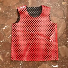 Comme Des Garcons 2014 Red Laser Cut Tank Top, Size S, New!