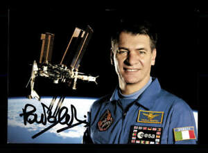 Paolo Nespoli Astronaut Weltraumfahrt  Original Signiert # BC 176001