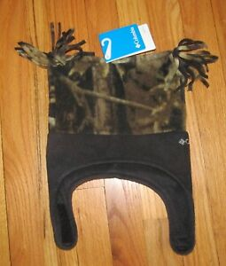 Columbia Youth Infant Baby Boys/Girls Camo Hat OS NWT
