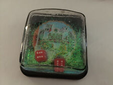 New listing Reno The Biggest Little City In The World Nv 1988 square snow globe with dice
