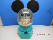 1968 Hasbro Mickey mouse Piggy Bank Penny Gum Ball  Vending Machine RARE COLOR