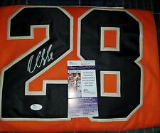 Claude Giroux Signed 2012 Winter Classic Jersey Size XL in person. JSA CERTIFIED
