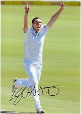 KYLE ABBOTT - Signed 12x8 Photograph - SPORT - SOUTH AFRICA CRICKET