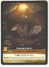 WoW EXTENDED ART PROMO Chasing A-Me 01 #350/361 NM/M