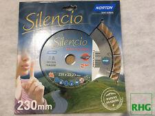 Original Norton Clipper Diamant Trennscheibe SILENCIO 230 x 22,23 mm patentiert