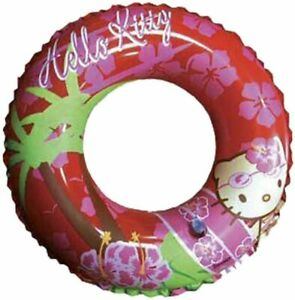 """Hello Kitty Inflatable Swimming Ring 50cm (19.75"""")"""