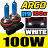 2x H9 100w Xénon Blanc Voiture Phare Foglight Ampoule Lampe Tête 12v 6000k