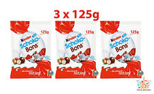 3 x Ferrero Kinder Schoko Bons Milk Chocolate Candies 3 x 125g 4.4oz