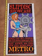 "1998 Voivod Concert Poster, Hand Signed By Artist Rob ""Trucker"" Schwager"