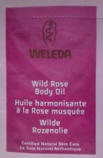WELEDA LOT ECHANTILLONS HUILE HARMONISANTE CORPS ROSE MUSQUEE 10 X 2 ML NEUFS