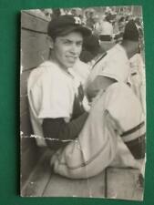 1950's BASEBALL PLAYER FELIPE MUÑECA ITURRALDE ORIGINAL BLACK AND WHITE PHOTO 4