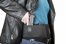 Belly Band Gun Holster Concealed Carry Weapon Protection Safety Strap Black New