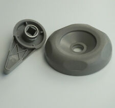 """Universal Spa Hot Tub Diverter Reinforced Handle Cap 3 5/8"""" Gray Smooth Hot Tub"""