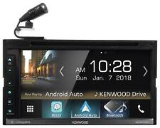 "Kenwood DDX6705S 6.8"" Car DVD Bluetooth Receiver Monitor w/Car Play/USB/Android"