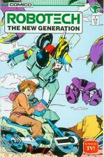 Robotech: the New Generation # 1 (estados unidos, 1985)