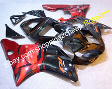 For Yamaha YZF R1 2000 2001 YZF1000 R1 00 01 YZF-R1 Red Flame Motorcycle Fairing