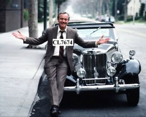 Jack Lemmon with His 1954 MG TD Outside His Office in Beverly Hills Photo