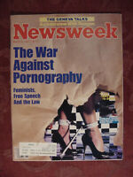 NEWSWEEK Magazine March 18 1985 War Against Pornography Drug Wars