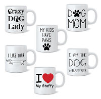Funny Dog Novelty Mug Tea Coffee Mug Cup Gift 11oz Animal Doggy White Mugs