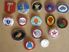 STRIKE BADGES, Collection of 15 Various Industry Strike Badges