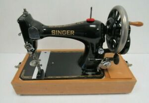 Vintage Singer 28K Sewing Machine 1895 SN 13235059 Hand Cranked - KEY FUR