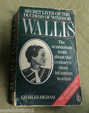 #KK. ROYALTY  SCANDLE  BOOK - WALLIS, DUCHESS OF WINDSOR