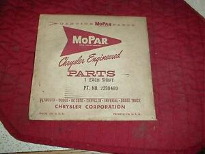 NOS MOPAR 1962 PLYMOUTH VALIANT DODGE LANCER SPEEDOMETER CABLE SHAFT MOST MODELS