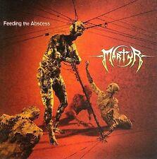 MARTYR Feeding the Abscess CD NEW Necrophagist, Voivod, Cynic, Atheist Obliveon