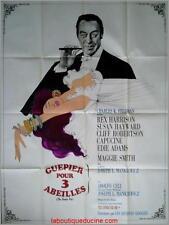 GUEPIER POUR 3 ABEILLES The Honey pot Affiche Cinéma / Movie Poster Rex Harrison