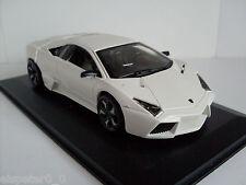 Lamborghini Gallardo Spyder blanco vitrina Bburago 1 32