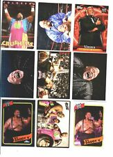 WWE Viscera Mable Wrestling Lot 9 Cards All Different 1