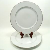 """EMPRESS by CROWN VICTORIA JAPAN FINE CHINA SET(s) OF 2 - 10 3/8"""" DINNER PLATES"""