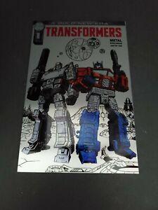 Transformers #1 Metal Megacon 2019 Exclusive Variant #240/750 IDW FanExpo Comic