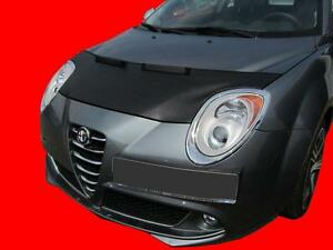 CAR HOOD BONNET BRA fit ALFA ROMEO Mito since 2008  NOSE FRONT END MASK TUNING