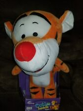 Disney Tigger Cutie Big Heads - New Old Stock boxed - Plush Stuffed Animal