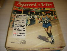 SPORT & VIE 08 01.1957 SPECIAL JEUX OLYMPIQUES MIMOUN KUTS FOOT ST ETIENNE