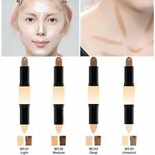 Dual 2 in1 Double-ended 3D Face Contour Contouring Highlighter & Bronzer Stick