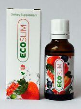 ECO SLIM NUOVO E conf. orig. 30 ml (166,33 €/ 100ml) BRUCIA GRASSI ECOSLIM
