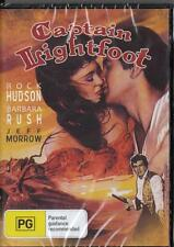 CAPTAIN LIGHTFOOT - ROCK HUDSON - NEW & SEALED REGION 4 DVD FREE LOCAL POST