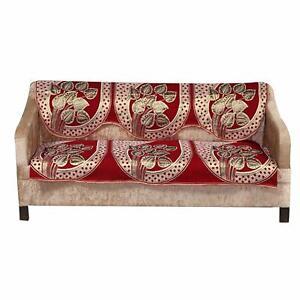 Cotton 3 Seater Sofa Cover Set, Designer Sofa Cover, Standard Size