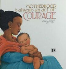 Mary Engelbreit Handmade Magnet-Motherhood Is Always An Act Of Courage