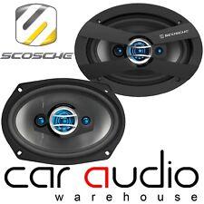 Scosche HD6903A 6x9 inch 4 Way 600 Watts a Pair Car Van Truck Motorhome Speakers